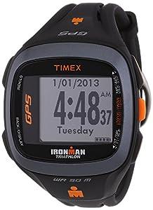 Timex - T5K744HE - Ironman Run Trainer 2.0 - Montre GPS Homme - Bracelet Résine - Alarme/Compte à rebours/Chronomètre