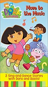 Dora the Explorer - Move to the Music [VHS]