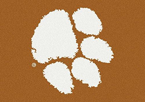Clemson Tigers NCAA Milliken Team Spirit Area Rug (2'8