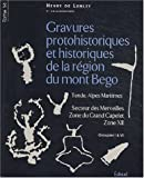 Gravures protohistoriques et historiques de la rgion du mont Bgo : Tome 14, Secteur des Merveilles, Zone du Grand Capelet, Zone XII, Groupes I  VI