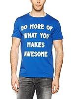 Meltin Pot Camiseta Manga Corta Abdonj (Azul)
