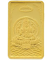 TBZ-The Original 5 gm, 24k(999) Yellow Gold Laxmi Precious Coin