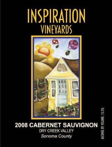 2008 Inspiration Vineyards Cabernet Sauvignon Dry Creek Valley 750 Ml