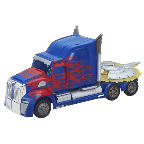 Amazon.com : Transformers: Age of Extinction First Edition Optimus Prime Figure