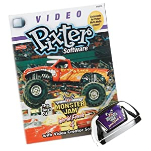 Pixter Multi-Media Video System: Monster Jam Video Rom