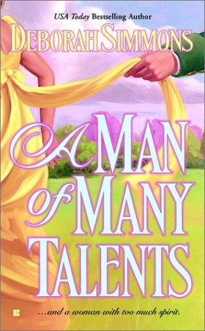 Image for A Man of Many Talents (Berkley Sensation Hsitorical Romance)