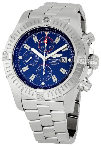 Breitling Men's A1337011/C757 Super Avenger Chronograph Watch