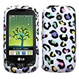 MyBat LG Cosmos Phone Protector Cover - Colorful Leopard