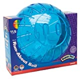 Super Pet Giant Guinea Pig Run-About 11-1/2-Inch Exercise Ball, Colors Vary