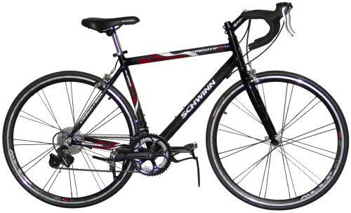 Schwinn Men's Varsity Carbon Bicycle (Black)