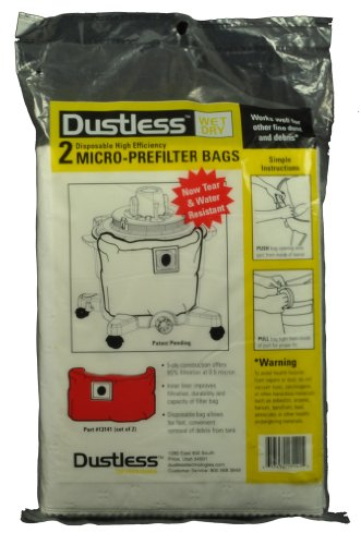 Loveless Ash Drywall Shop Vac Vacuum Cleaner Bags