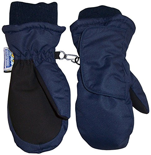 nice-caps-kids-easy-on-thinsulate-waterproof-velcro-wrap-mitten-3-4-years-navy-black