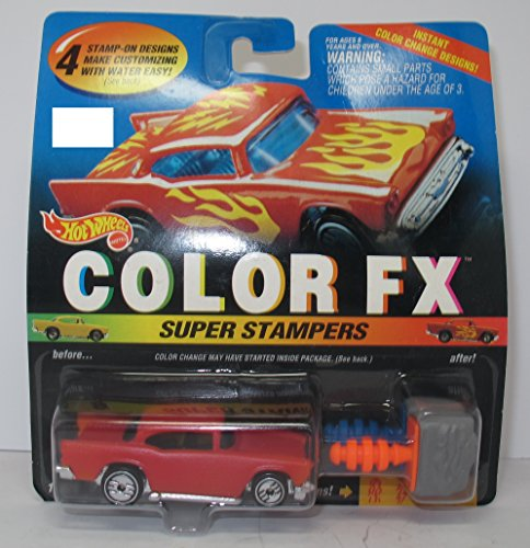 Hot Wheels Color Fx Super Stampers '57 Chevy