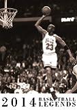 Basketball Legends 2014 Calendar