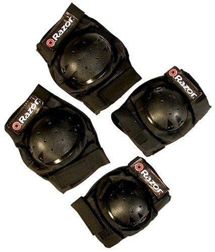 Razor Skateboard Youth Pad Set (Black)