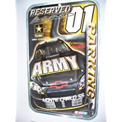 MARK MARTIN 11x17 Reserved Parking Sign by NASCAR