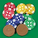 Chocolate Poker Chips (1 lb)