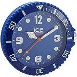 Ice-Watch - IWF.BE - Horloge Murale - Quartz Analogique - Cadran Bleu - Diamètre : 28 cm