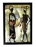 Famacart Home Décor wooden painting Wall décor Hangings Modern Painting