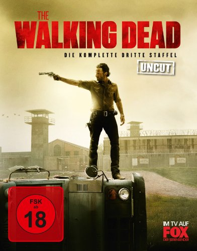 The Walking Dead - Die komplette dritte Staffel - Uncut [Blu-ray]