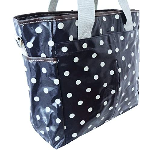 Gossip Girl - Large PVC Oilcloth Shopper Carry All Zipped Tote Bag