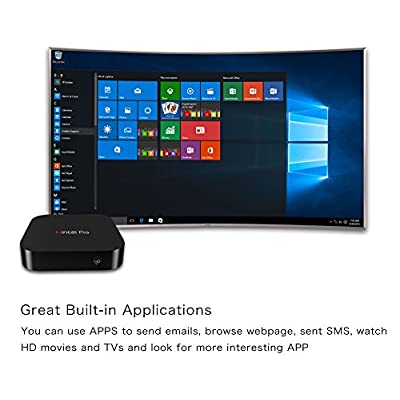 Wintel Pro CX-W8 TV Box Windows Intel Z8300 Quad-core 2.4GHz BT 4.0 2G/32G