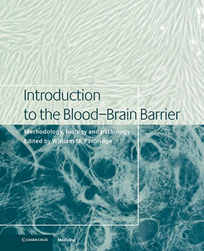 Introduction To The Blood-Brain Barrier: Methodology, Biology And Pathology front-1035009
