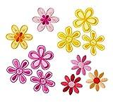 Mono-Quick 315 Aufbügelbilder Blumen Set, 5 teilig,...