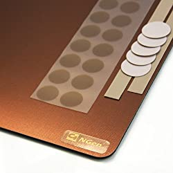 CS Hyde C4-NGen Medium Mousepad with Gear, Copper Color, 8.5