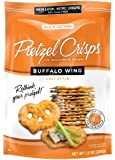 Snack Factory Buffalo Wing Pretzel Crisps, 7.2-Ounce Bags (Pack of 12)