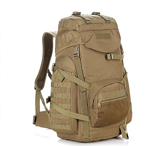 Grand sac / sac à bandoulière capacité camouflage / sac à dos tactique extérieur / sac d'alpinisme-5 60L