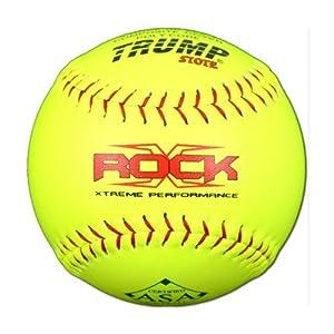Buy 1 Dozen ASA 12 Softballs 52 COR 300 Compression 12 Balls (X-ROCK-ASA-RP-Y) by Evil Sports