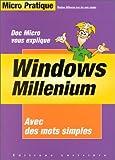 echange, troc Emmanuel Alexandre - Windows Millenium [sic] avec des mots simples