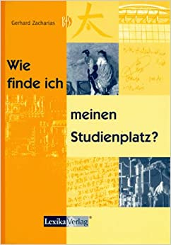 wie finde ich meinen studienplatz gerhard zacharias 9783896942227 books. Black Bedroom Furniture Sets. Home Design Ideas