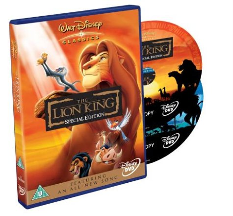 The Lion King (2 Disc Special Edition) [1994] [DVD]