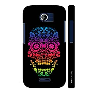 Micromax Canvas A117 Skull Art 2 designer mobile hard shell case by Enthopia