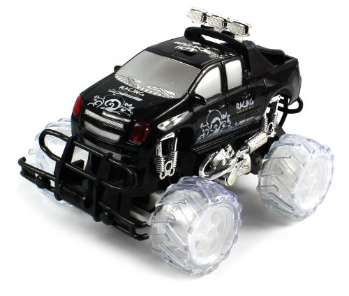 BRIGHT COLORFUL WHEEL LIGHTING Electric Full Function 1:18 Drift Madness Chevy Silverado Super Power RTR RC Truck (Colors May Vary) PERFECT GIFT!