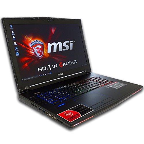 CUK MSI GT72 Dominator 17.3-inch Intel 6th Gen 16GB 512GB SSD + 2TB HDD NVIDIA GTX 970M 3GB Windows 10 Full HD Blu-Ray Gaming Laptop Computer