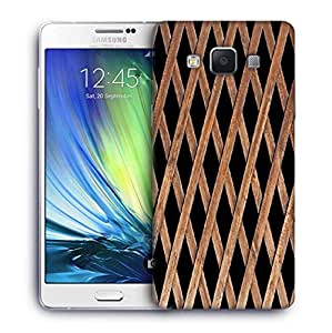Snoogg Wood Cage Designer Protective Phone Back Case Cover For Samsung Galaxy A7