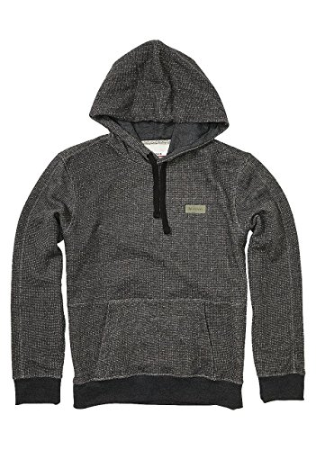NIXON Slate Pullover Hoodie Black heather Fall Winter 16-17 - XL
