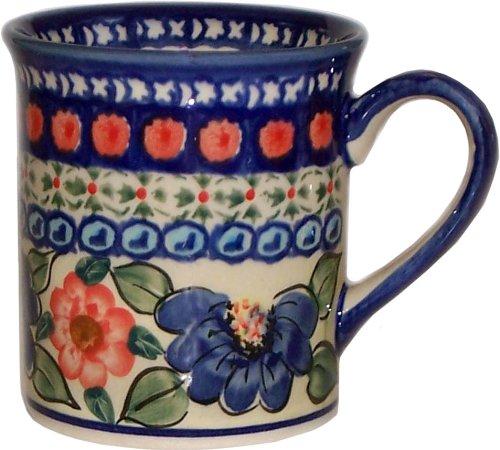 "Boleslawiec Stoneware - Polish Pottery Coffee Or Tea Mug - Eva'S Collection ""Patricia"""