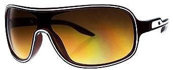 GIL Design Sonnenbrille von GIL Design Braun Silber UV400 k6 NEU