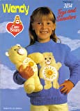 Wendy Children's Care Bear Motif Sweaters and Care Bear Toy Knitting Pattern: Sweaters to fit chest size 22