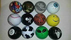 Get a Laugh Golf Balls (1 Dozen)