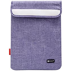 Sheng Beier 11inch Padded Light Weight Sleeve Bag for Apple iPad, Lenovo Tab 2 A7-10, iBall Slide and other 10in Tablets (Purple)