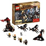"Lego Year 2012 ""The Hobbit An Unexpected Journey"" Movie Series Battle Scene Set #79001 Escape From Mirkwood Spiders..."