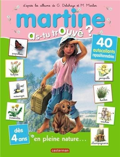 Martine en pleine nature (autocollants 2011)