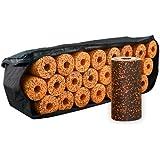 Blackroll Orange (Das Original) - DIE Selbstmassagerolle - big bag STANDARD mit 23 Stück Rollen inkl. 2 Übungs-DVD & 4 Satz Poster