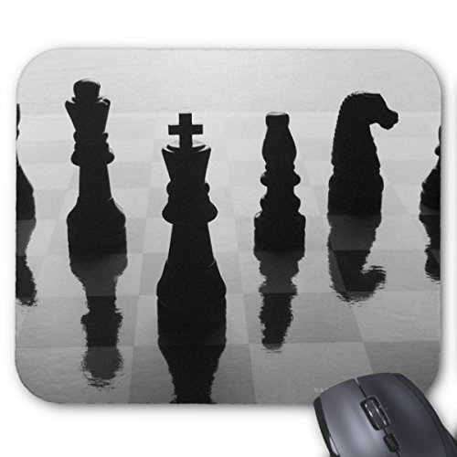 Chess Reflections On Chess Board Mousepad