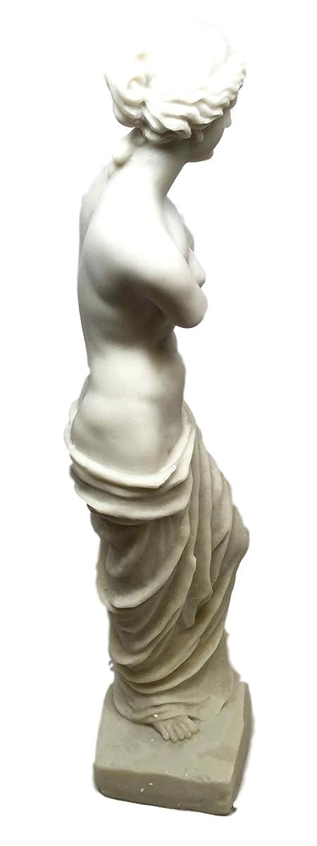 Large Classical Reproduction of Venus De Milo Figurine From Louvre Museum Ancient Greek Ruin Model Aphrodite
